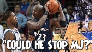 How did T Mac Do Against Michael Jordan ?