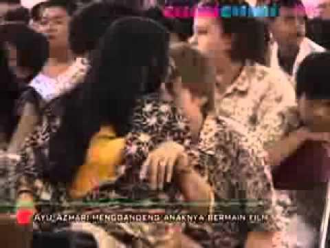 Ayu Azhari Ajak Anak Main Film - CumiCumi