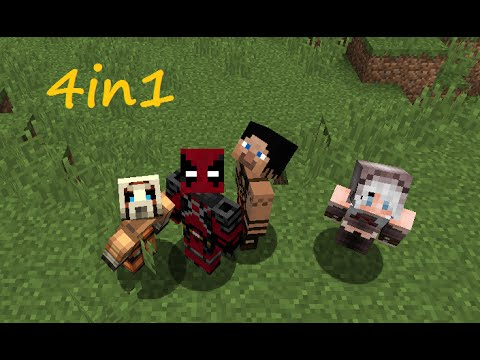 Minecraft 4in1 | Realms Survival Multiplayer | Ep 01 - EMPEZAMOS A TOPE