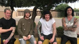 ASKING ALEXANDRIA - Video message to the Bulgarian fans.