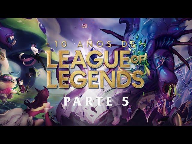 10 años de League of Legends (5/5) - Por diez años más