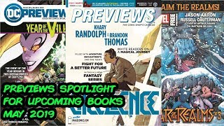 Previews Spotlight - Upcoming Comic Books for May 2019!!