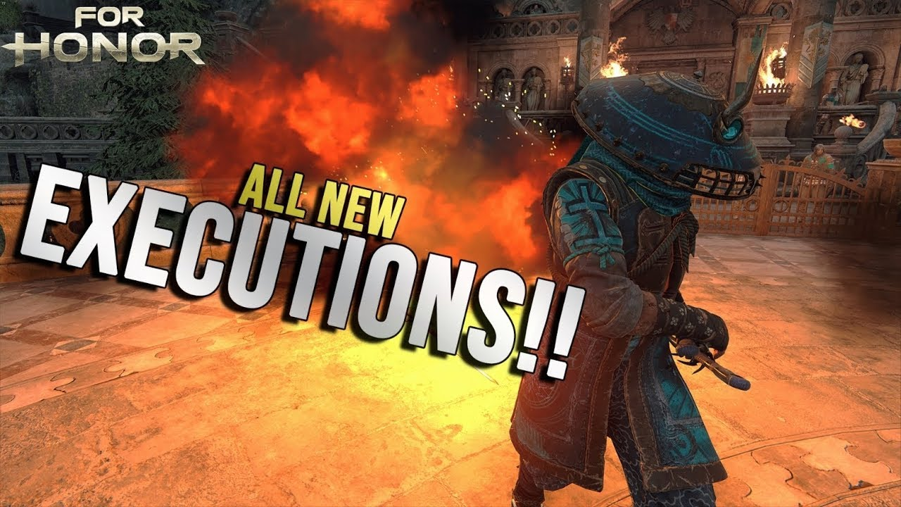 ALL NEW EXECUTIONS ⚔️ (Reaction) | For Honor