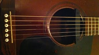 Slow Acoustic Guitar Backing Track (A minor)