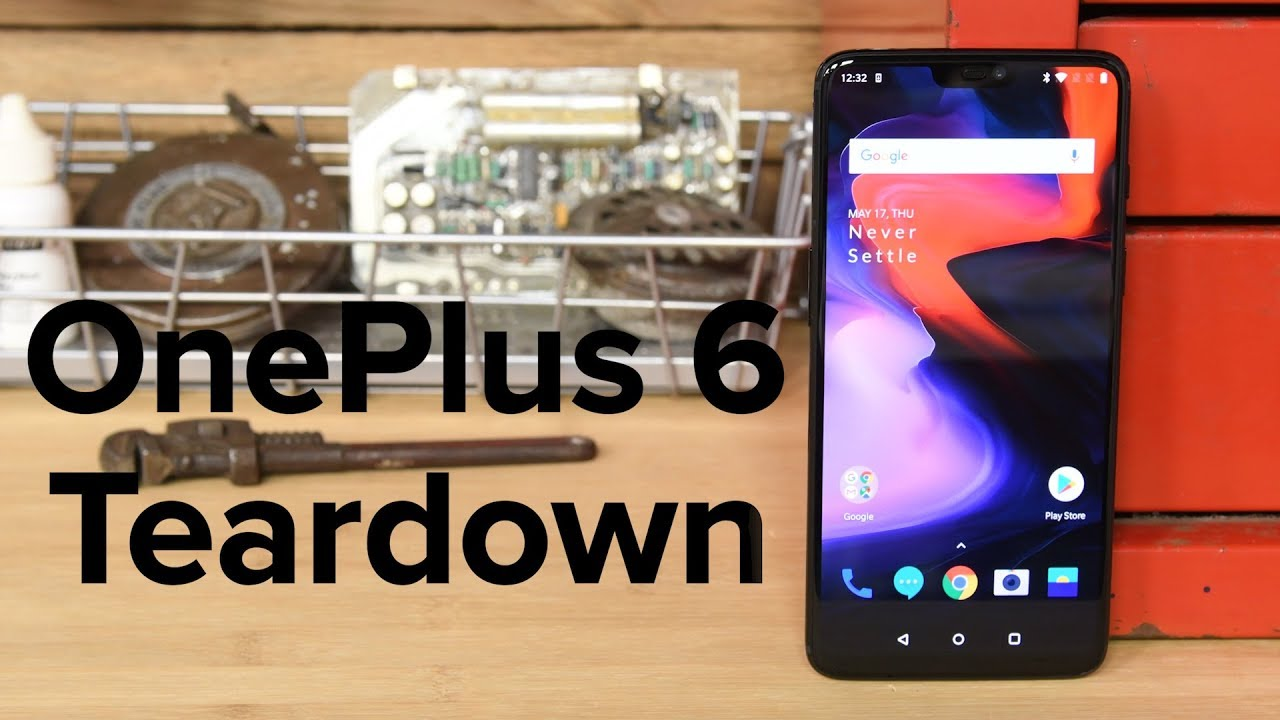 OnePlus 6 Teardown - iFixit