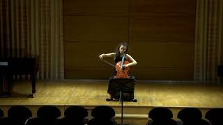 Bernd Alois Zimmermann: Vier Kurze Studien for solo cello, 1970