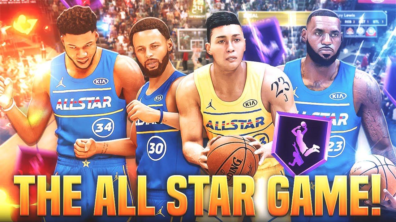 The ALL STAR GAME! Kaygiannis the TRUE NBA GOAT.. 2K21 MyCareer Ep.13