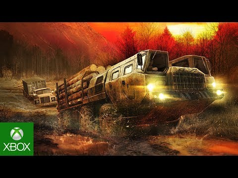 Spintires: MudRunner Launch Trailer