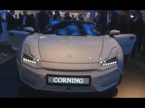 Corning's Connected Concept Car has a dashboard that's made entirely of ...