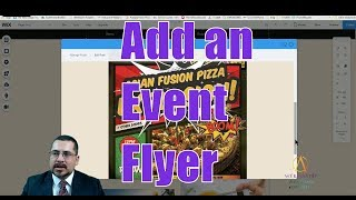 Add an event flyer to your homepage - Web Design - Wix Tutorial