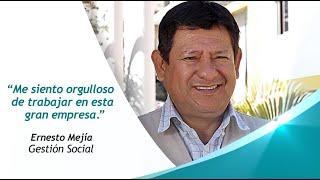 Ernesto Mejía nos cuenta su experiencia en el área de Gestión Social