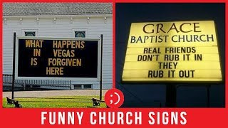 Funny Church Signs That Would Even Make Jesus Laugh