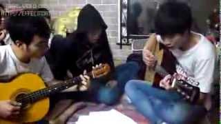 Đêm đêm nằm mơ phố - Guitar cover