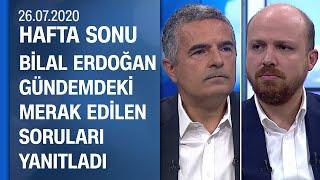 Dünya Etnospor Konfederasyonu Başkanı Bilal Erdoğan, Hafta Sonu'na konuk oldu - 26.07.2020 Pazar