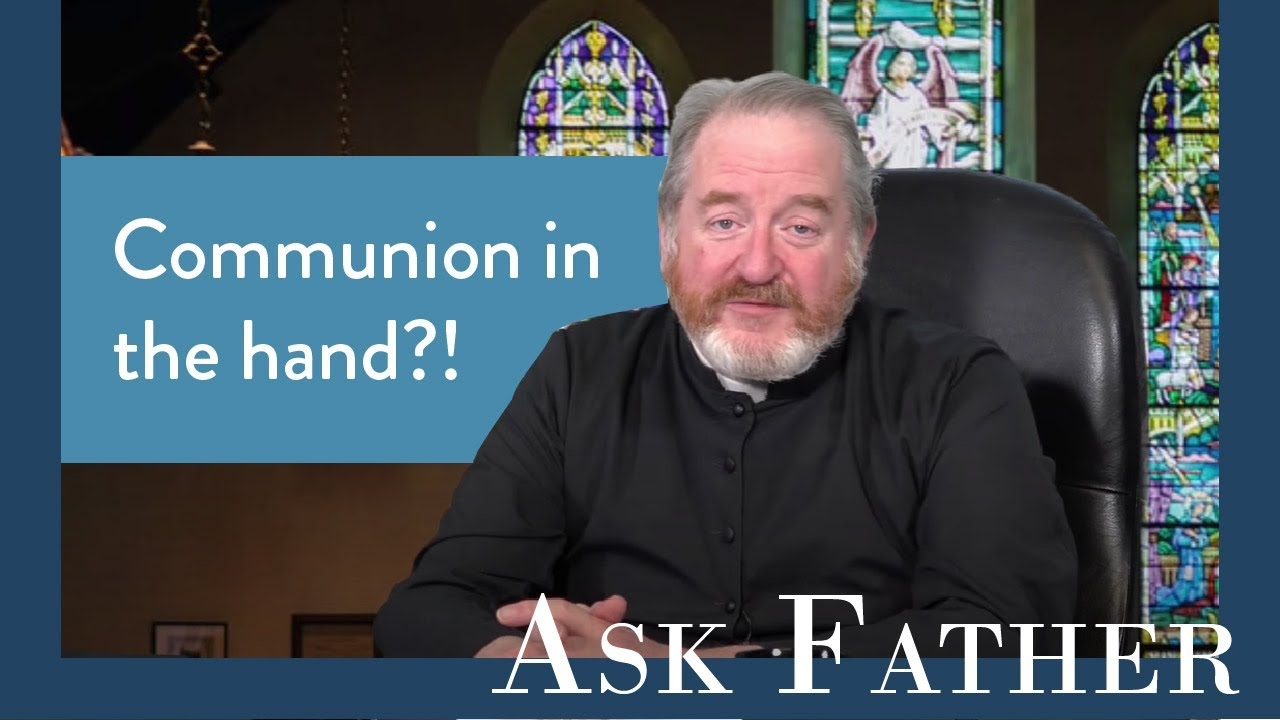 Can the Bishop Make Communion in the Hand Compulsory? | Ask Father with Fr. Paul McDonald