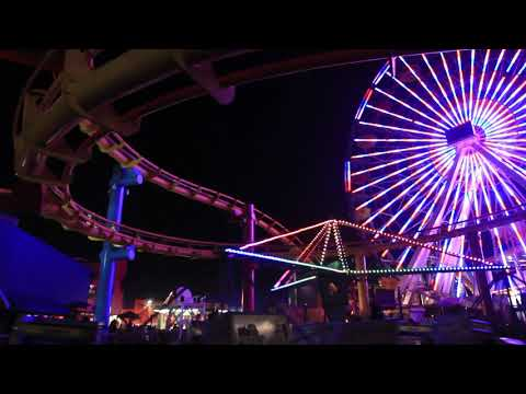 eScapes TV Relaxation Video -Santa Monica, California