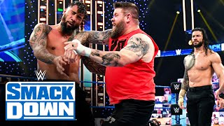 Kevin Owens & Otis vs. Roman Reigns & Jey Uso: SmackDown, Dec. 4, 2020