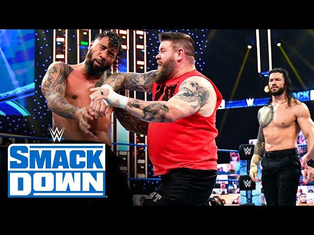 Kevin Owens & Otis vs. Roman Reigns & Jey Uso: SmackDown Dec. 4, 2020