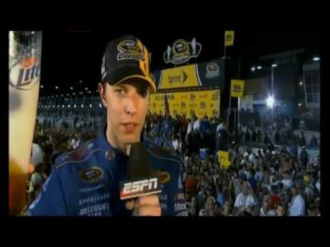 Brad Keselowski Interview - It's Miller Time!