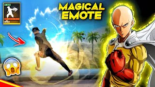 New One Punch Man Magical Emote😵🔥जादुई शक्ति !!