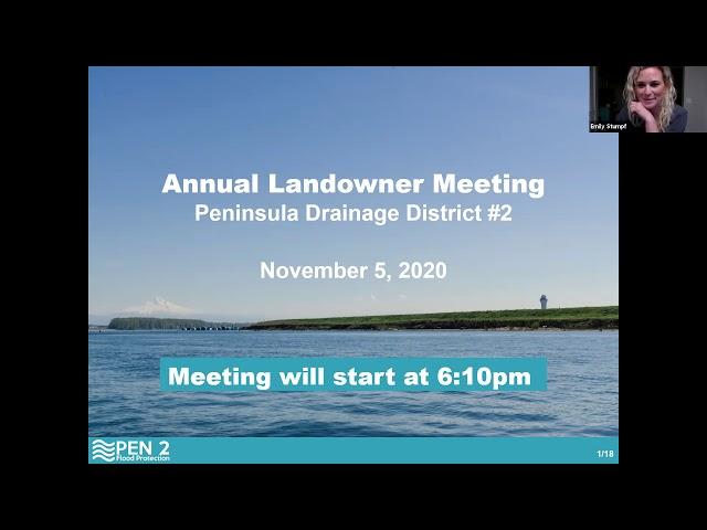 November 5, 2020 - PEN2 Annual Landowner Meeting
