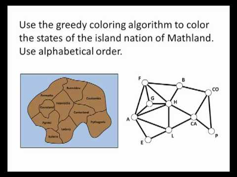 Math for Liberal Studies: The Greedy Coloring Algorithm