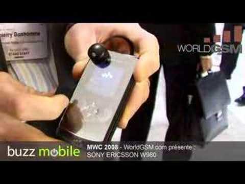 MWC 2008 : SONY ERICSSON W980