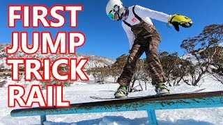 Tips For Your First Snowboard Jump, Trick & Rail