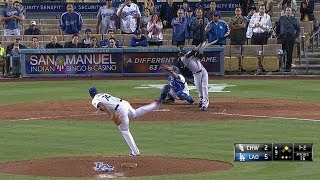 CWS@LAD: Jansen strikes out the side in the 9th