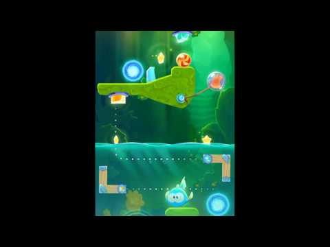 Cut The Rope Magic Mystery Cave Level 50-12 Walkthrough Android