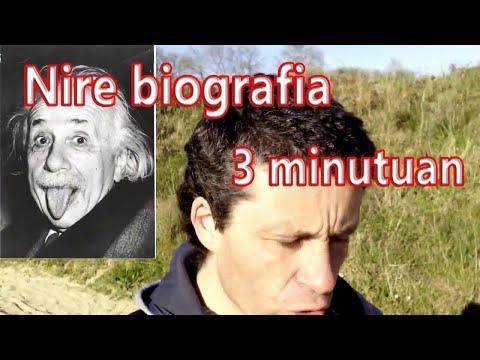 Nire biografia hiru minututan - Fernando Morillo Grande (Sorginetxe istorioak)