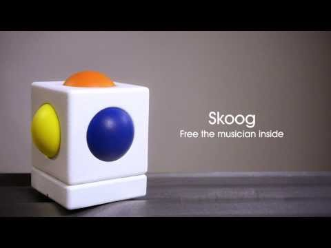 Meet the Skoog.  The easy-to-play instrument for everyone.