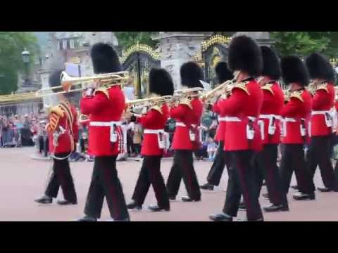Changing Of The Guard Buckingham Palace Tuesday 5th July 2016