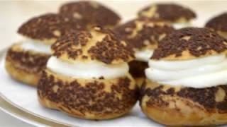 ✔ Пирожные «Шу» с кракелином - французские заварные пирожные
