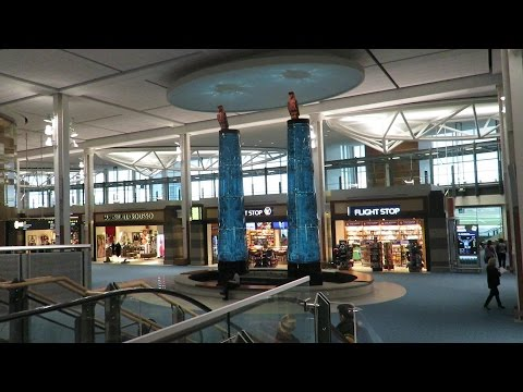 A Trip Out Of YVR To YLW (Vancouver To Kelowna BC, Canada)