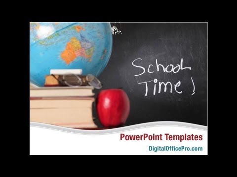 school blackboard powerpoint template backgrounds digitalofficepro