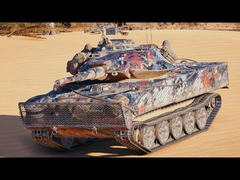 World of Tanks XM551 Sheridan - 8 Kills 7,4K Damage