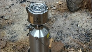Stainless Steel Kettle with Filter self reliance outfitters Pathfinder