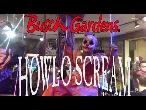 Howl-O-Scream at Busch Gardens Tour and...