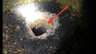 """Mystery in Midway - """"Flaming Hole"""" in ground spawns unusual geological event"""