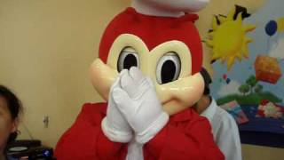 Candle Blowing with JOLLIBEE!:)