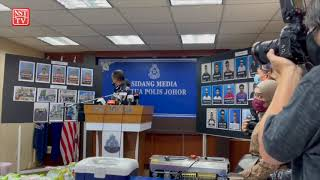 20 tokan dadah dicekup di Johor