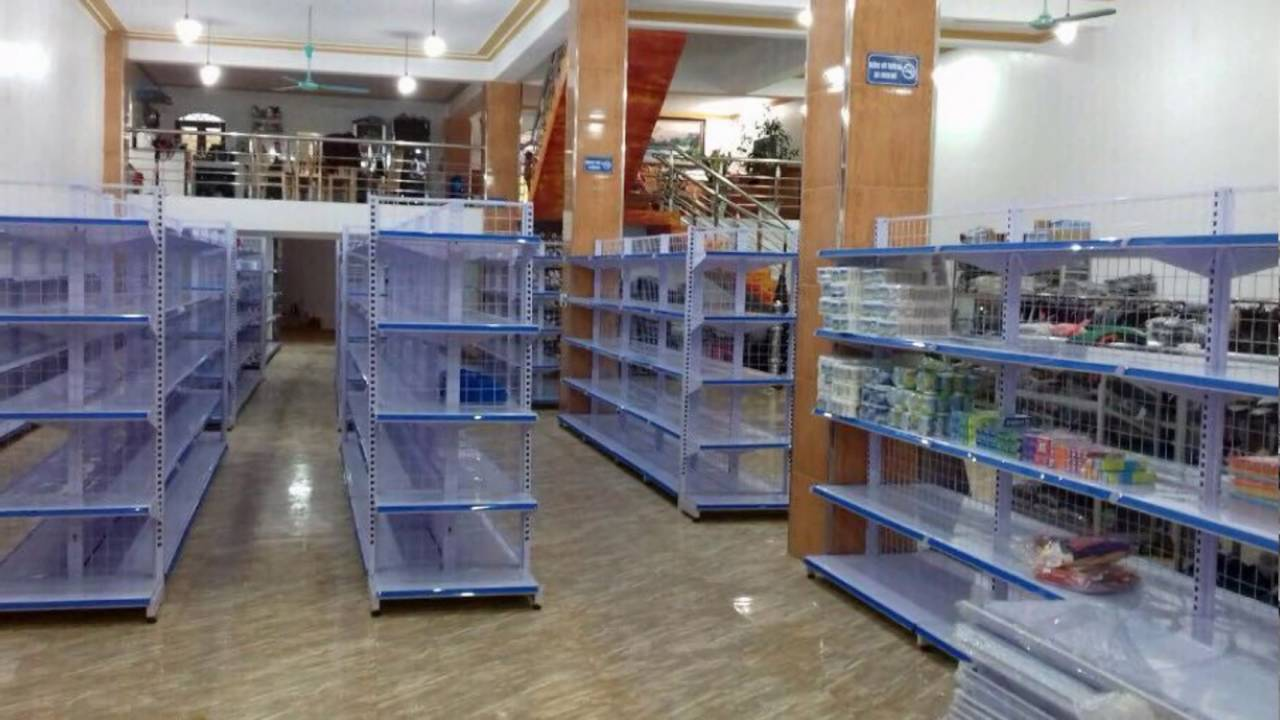 Cung cấp kệ bán hàng siêu thị, tạp hóa Uy tín Chất lượng