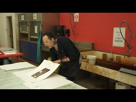Photo Intaglio Printmaking Workshop with Bret Reinbold