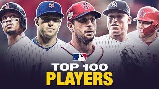 MLB's Top 100 Players Right Now