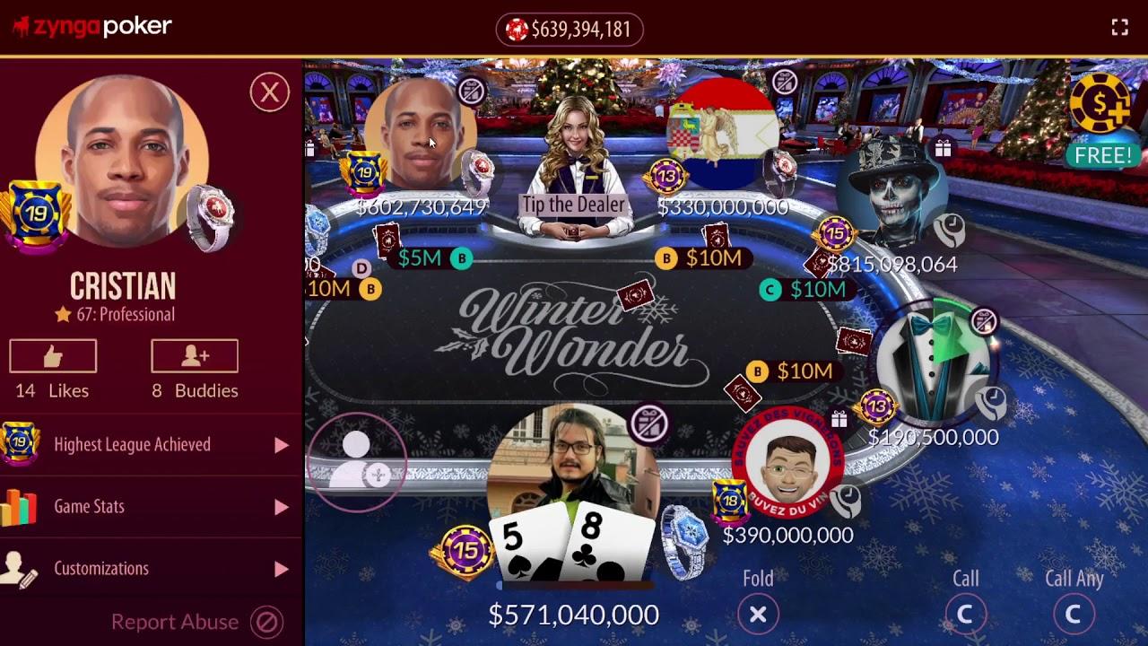Qq Vs Ak Winter Wonder December 13 2020 Zynga Poker Youtube