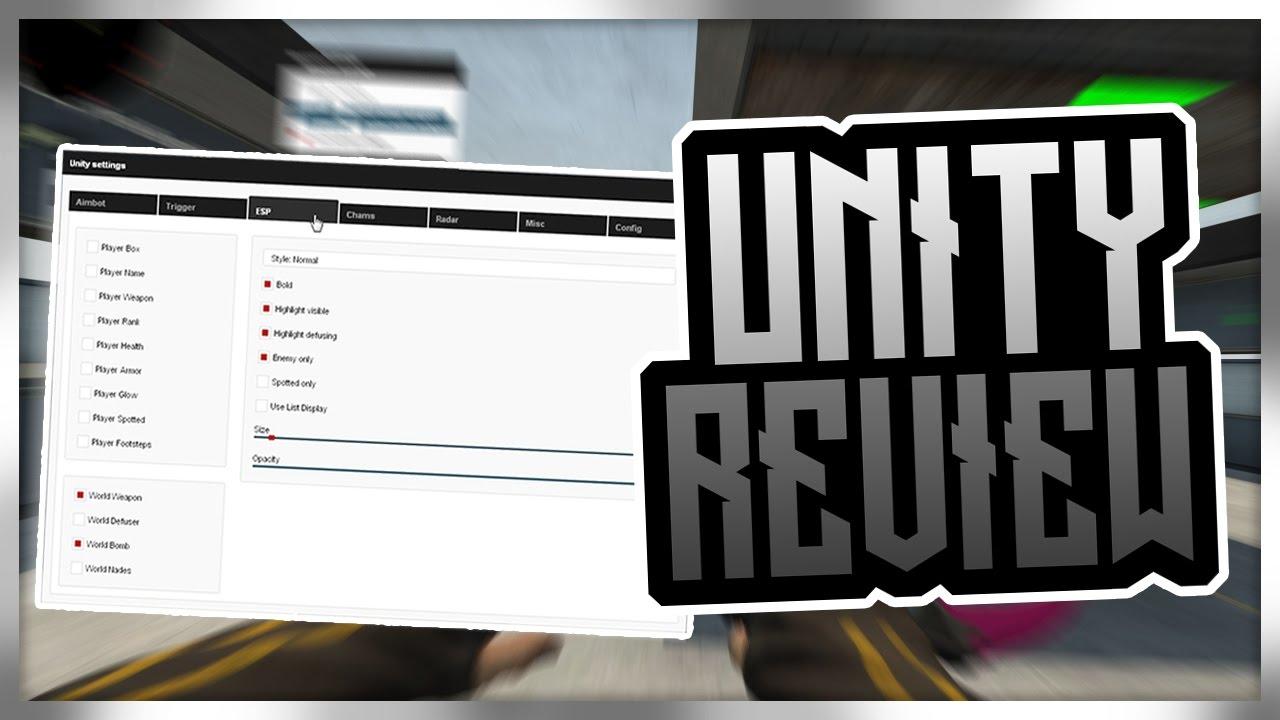 CS:GO | Unity Hacks Review Aimbot/Triggerbot/ESP/Radar/Misc - Thanks For  2500 Subscribers! #Road3k