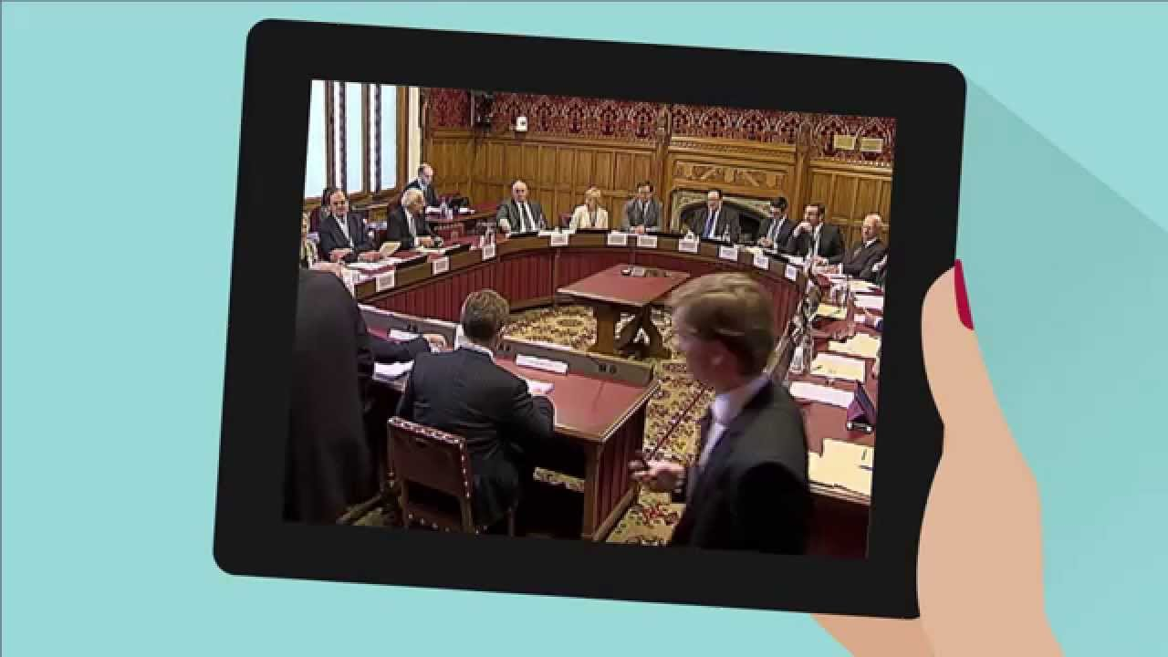 How to get involved | Select committees | House of Lords