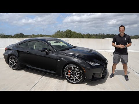 Is the 2020 Lexus RC F the BETTER performance car than a BMW