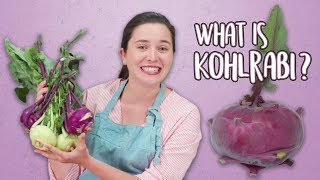 What Is Kohlrabi and How Do You Prepare It? | How To | Well Done